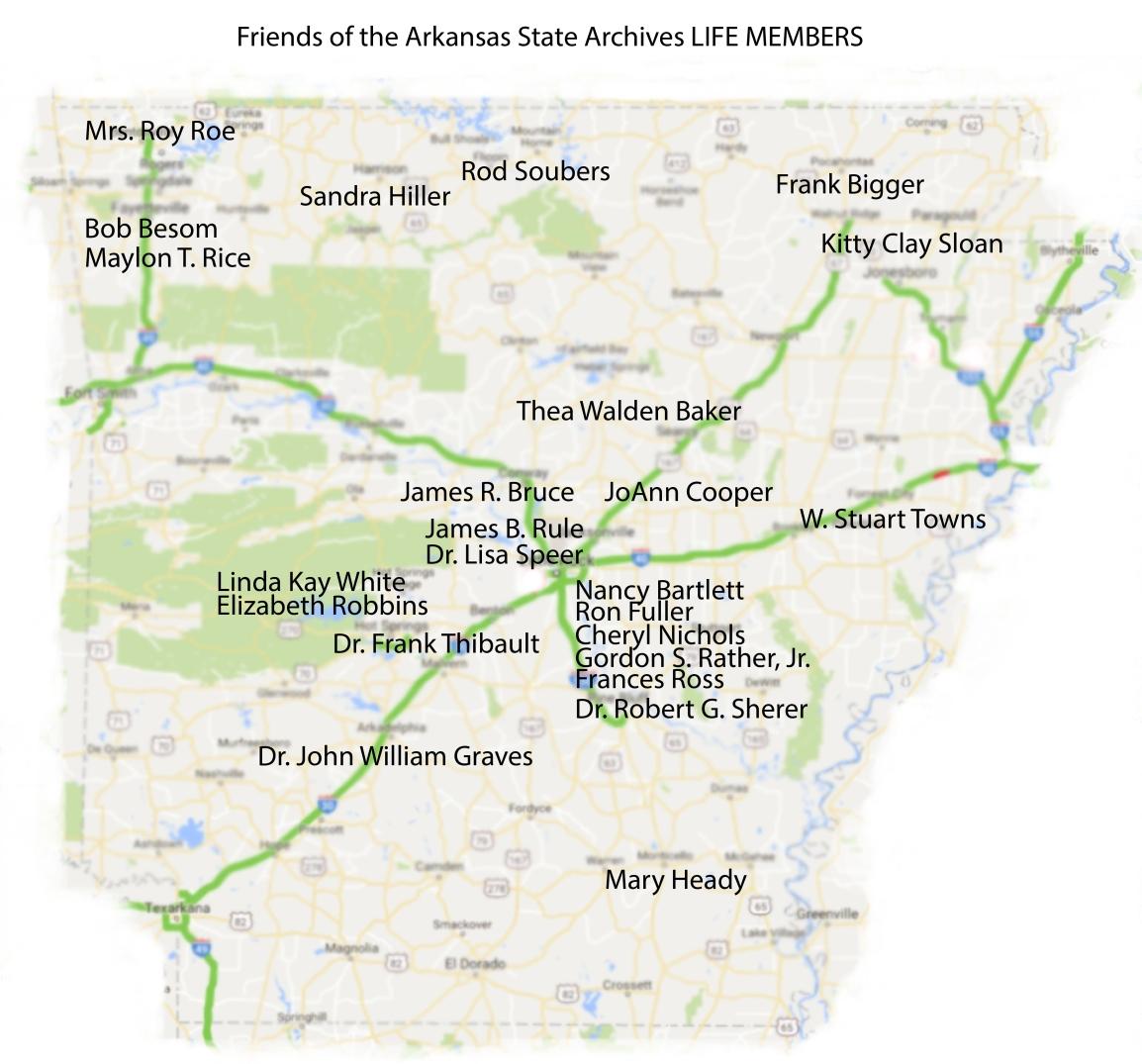 Arkansas Map (FASA)